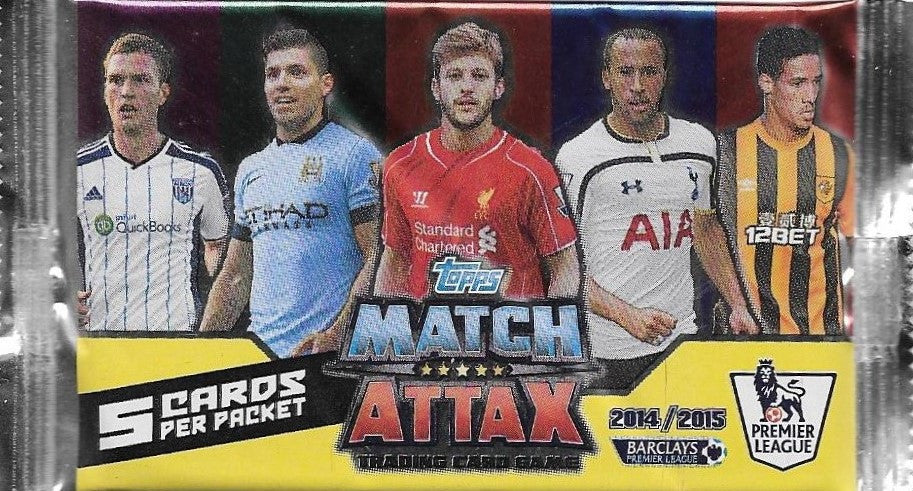 2014-15 Topps Match Attax EPL Pack