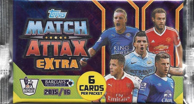 2015-16 Topps Match Attax Extra EPL Pack