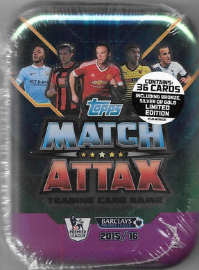 2015-16 Topps Match Attax EPL Tin