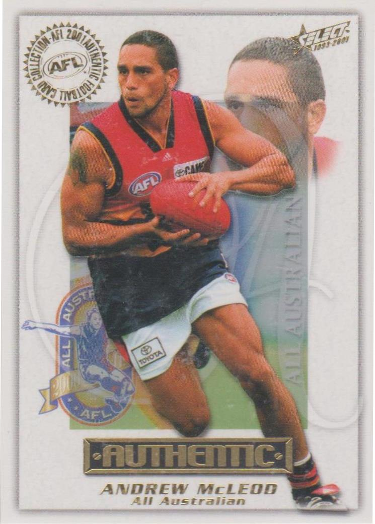 Andrew McLeod, All Australian, 2001 Select AFL Authentic