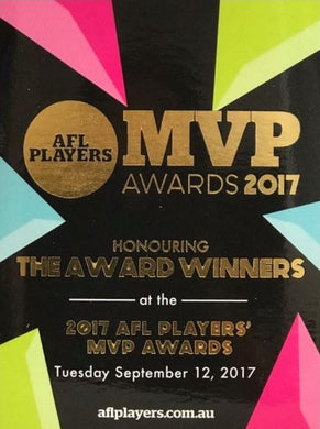 2017 AFL Players MVP Awards Set, 2017 Select AFL