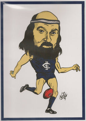 Bruce Doull, A4 Print by NOEL