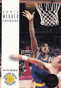 Chris Webber, RC, 1993-94 Skybox Basketball NBA