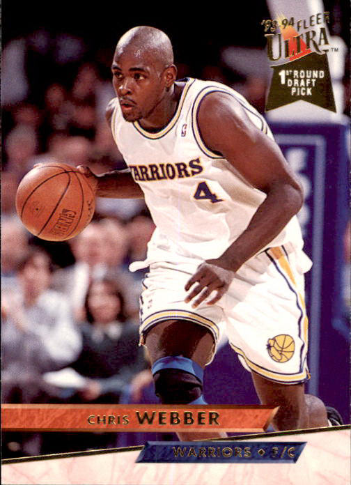 Chris Webber, RC, 1993-94 Fleer Ultra Basketball NBA