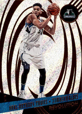 Karl-Anthony Towns, 2016-17 Panini Revolution Basketball