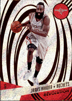 James Harden, 2016-17 Panini Revolution Basketball