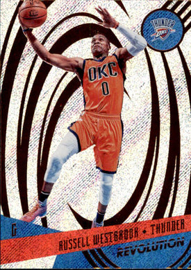 Russell Westbrook, 2016-17 Panini Revolution Basketball