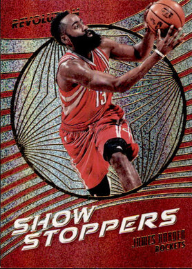 James Harden, Show Stoppers, 2016-17 Panini Revolution Basketball
