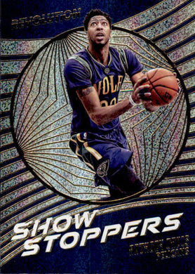 Anthony Davis, Show Stoppers, 2016-17 Panini Revolution Basketball