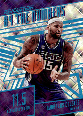 DeMarcus Cousins, Cosmic By the Numbers, 2016-17 Panini Revolution Basketball