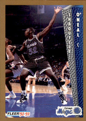 Shaquille O'Neal, RC, 1992-93 Fleer Basketball NBA
