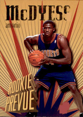 Antonio McDyess, Rookie Prevue, 1995-96 Skybox Basketball NBA