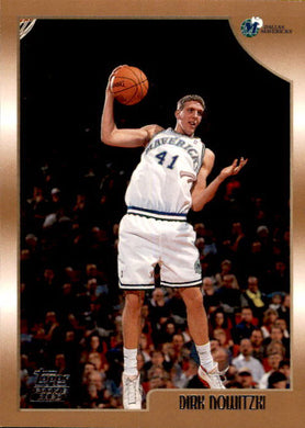 Dirk Nowitzki, RC, 1998-99 Topps Basketball NBA