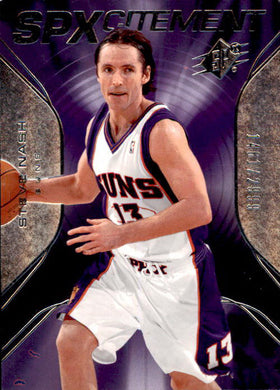 Steve Nash, SPXcitement, 2006-07 UD SPx Basketball NBA
