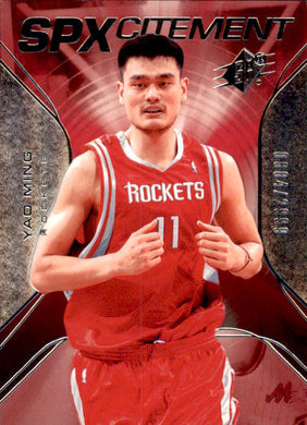Yao Ming, SPXcitement, 2006-07 UD SPx Basketball NBA