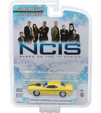 NCIS 1970 Dodge Challenger Hollywood Series 2, 1:64 Diecast Vehicle