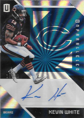 Kevin White, Signature, 2016 Panini NFL Unparalleled Football