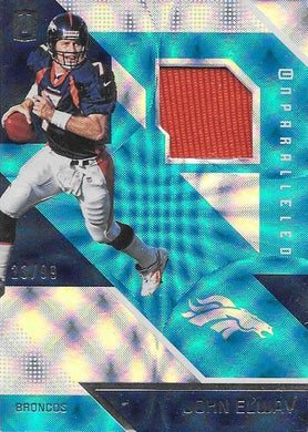 John Elway, Materials, 2016 Panini NFL Unparalleled Football