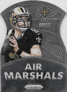 Drew Brees, Air Marshalls, 2015 Panini NFL Prizm Football
