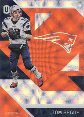 Tom Brady, /99, 2016 Panini NFL Unparalleled Football