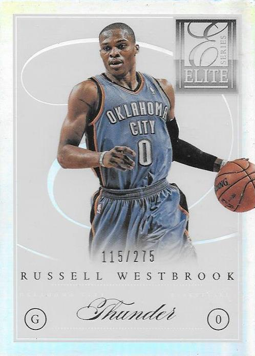 Russell Westbrook, 2012-13 Panini NBA Elite Series