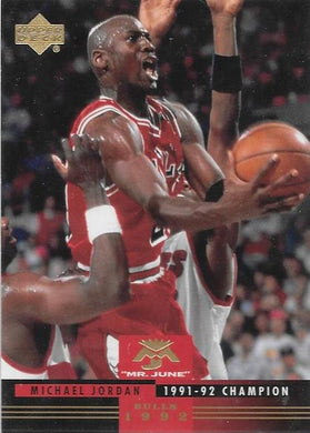 Michael Jordan, Mr June, 2008-09 UD Lineage NBA