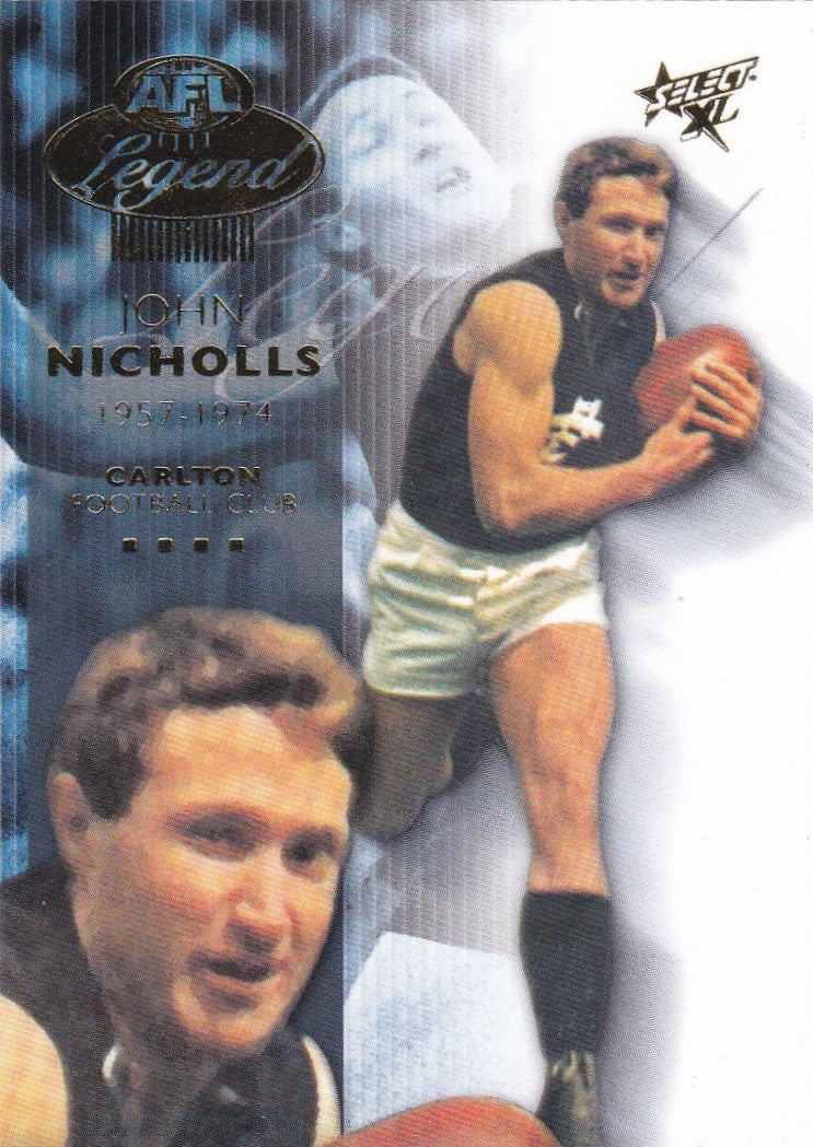 John Nicholls, Legend, 2003 Select AFL XL