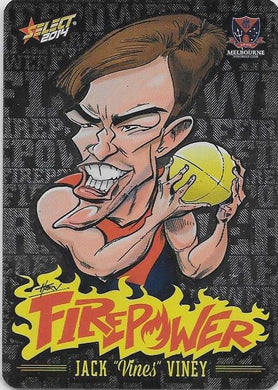 Jack Viney, Firepower Caricatures, 2014 Select AFL Champions
