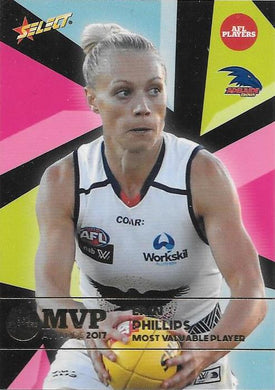 Erin Phillips, 2017 Select AFL MVP Awards