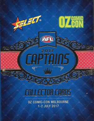 2017 Captains Set, Oz Comic Con, 2017 Select AFL