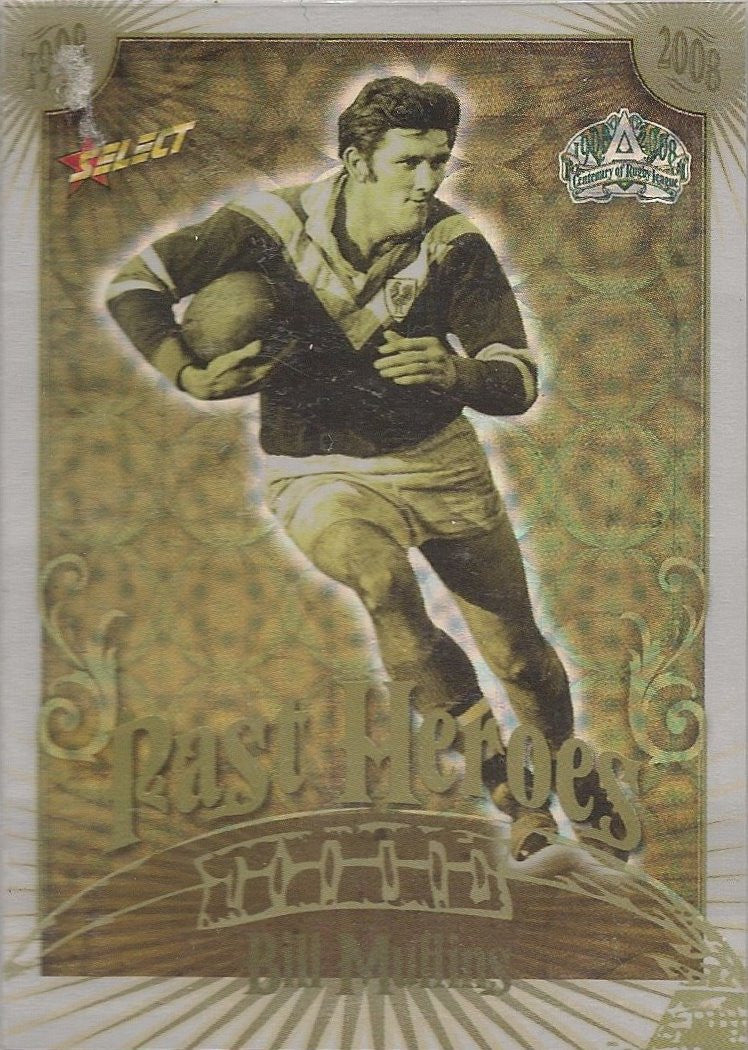 Bill Mullins, Past Heroes, 2008 Select NRL Centenary of Rugby League