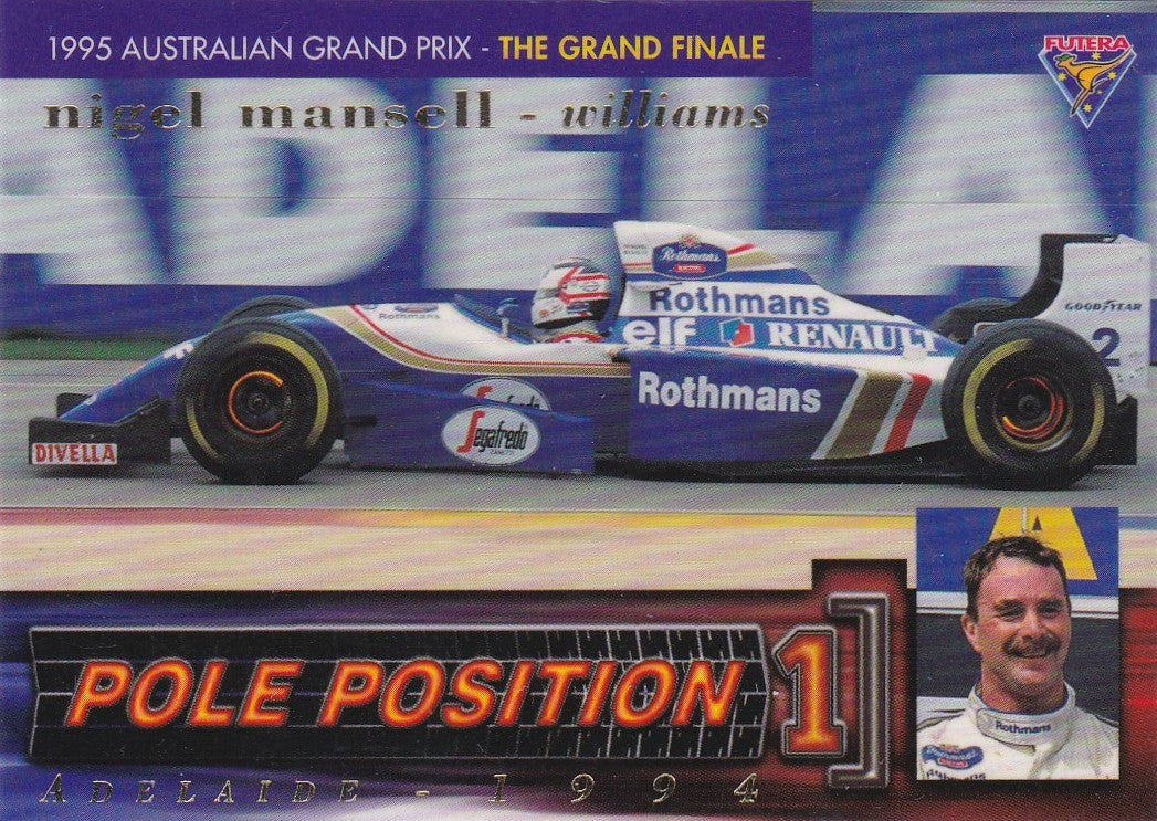 Nigel mansell i pole position