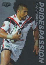 Pride & Passion, 2014 ESP Elite NRL - 1 to 48 - Pick Your Card