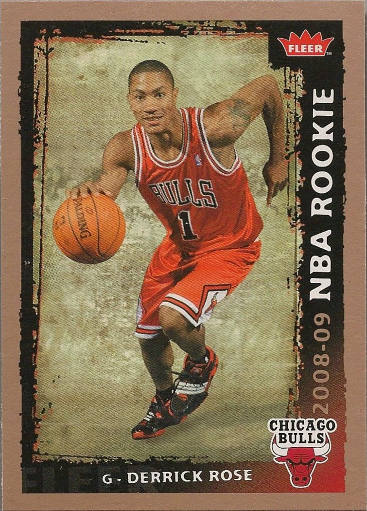 Derrick Rose, 2008-09 Fleer NBA RC