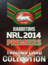 2014 South Sydney Rabbitohs RED Premiers card set