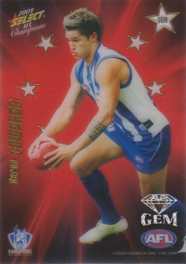 Aaron Edwards, Star Gem, 2009 Select AFL Champions