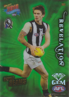 Dayne Beams, Revelation Gem, 2010 Select AFL Champions