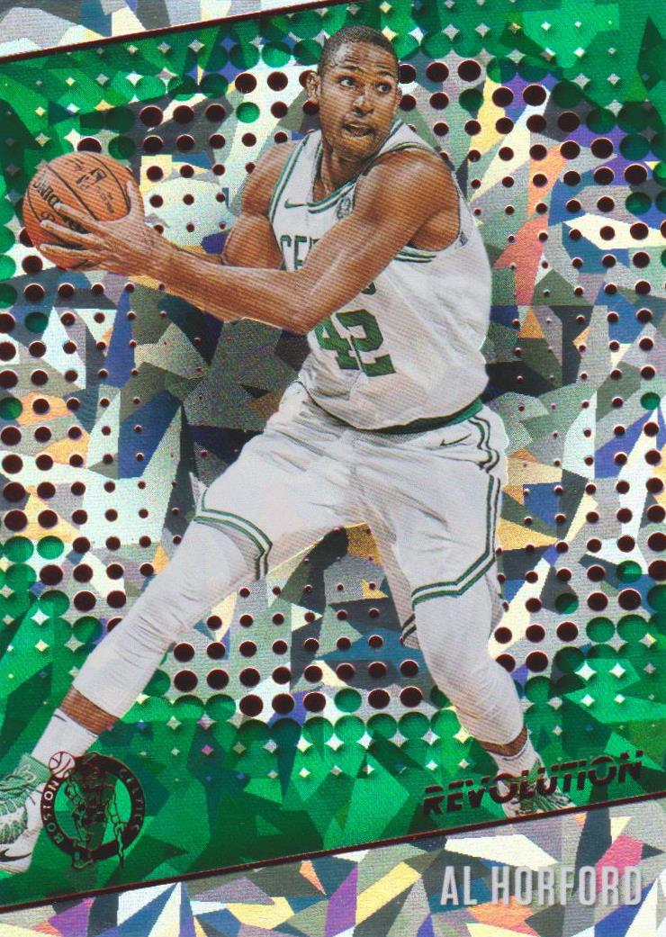 Al Horford, Chinese New Year Cracked Ice, 2017-18 Panini Revolution Basketball