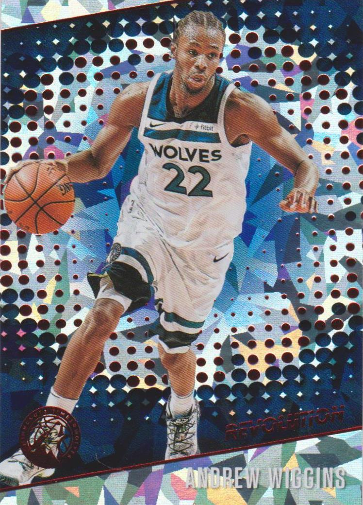 Andrew Wiggins, Chinese New Year Cracked Ice, 2017-18 Panini Revolution Basketball