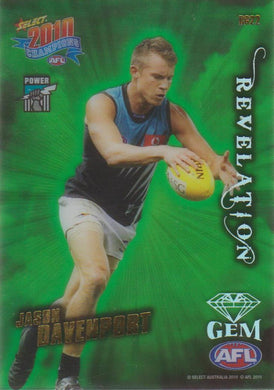 Jason Davenport, Revelation Gem, 2010 Select AFL Champions