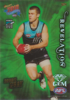 Robbie Gray, Revelation Gem, 2010 Select AFL Champions