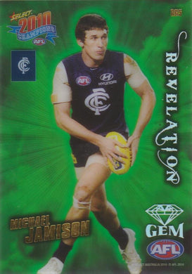 Michael Jamison, Revelation Gem, 2010 Select AFL Champions