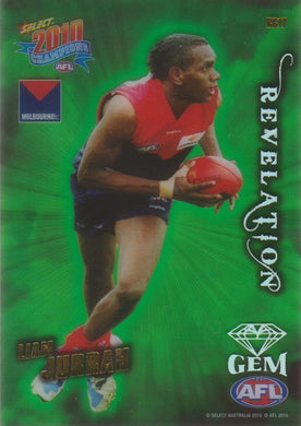 Liam Jurrah, Revelation Gem, 2010 Select AFL Champions