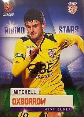 2015-16 Tap'n'play FFA A-League Soccer, Rising Stars, Mitchell Oxborrow, # RS-09