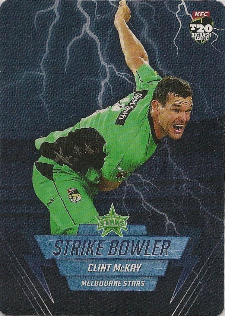 Clint McKay, Strike Bowler, 2014-15 Tap'n'play CA BBL 04 Cricket