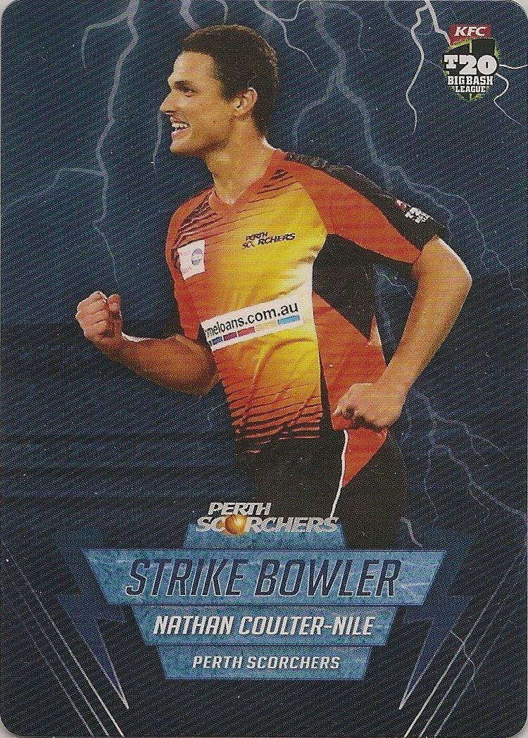 Nathan Coulter-Nile, Strike Bowler, 2014-15 Tap'n'play CA BBL 04 Cricket