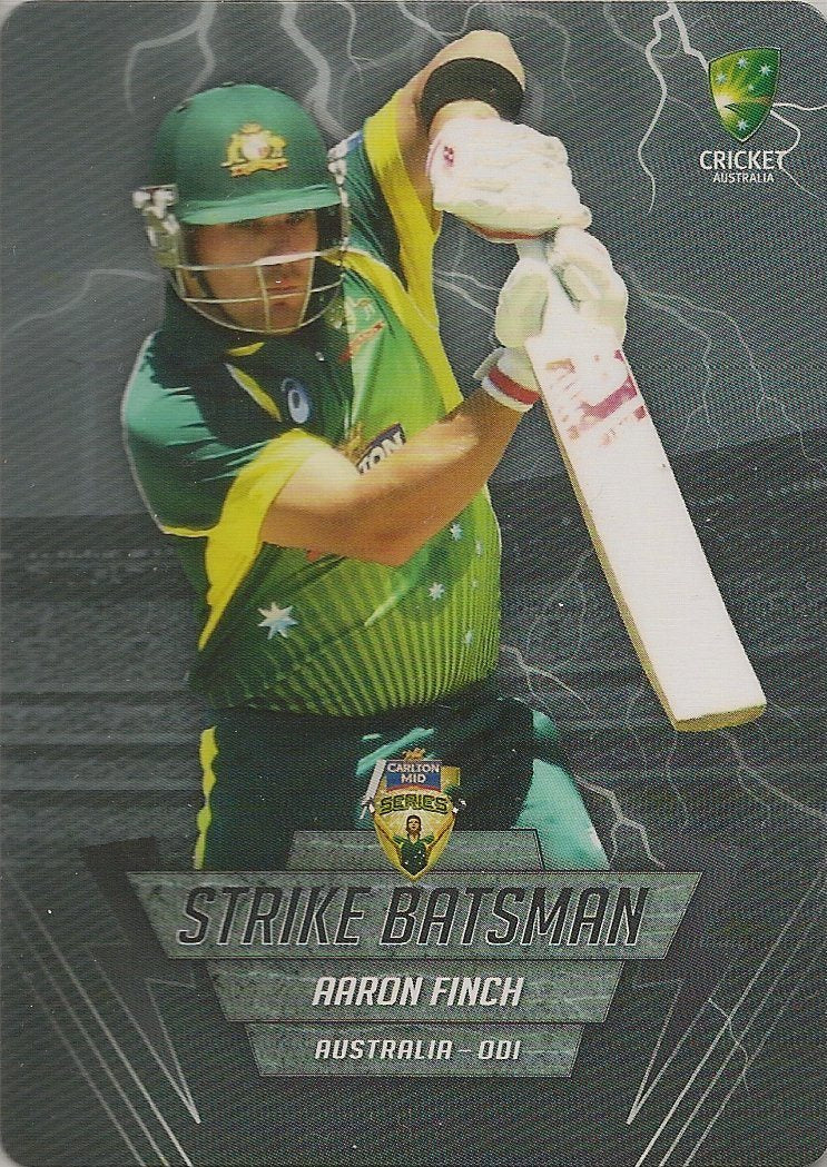 Aaron Finch, Strike Batsman, 2014-15 Tap'n'play CA BBL 04 Cricket