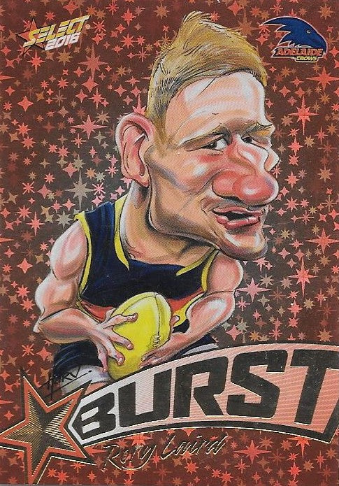Rory Laird, Starburst Caricatures, 2016 Select AFL Stars