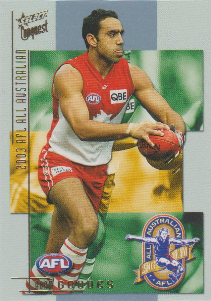 Adam Goodes, All Australian, 2004 Select AFL Conquest