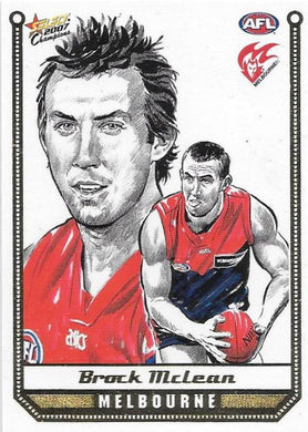Brock Mclean, Sketch card, 2007 Select AFL Champions